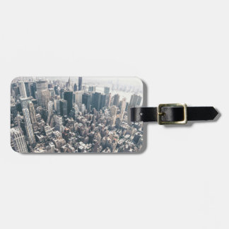 Skyscrapers and Rooftops of New York City Tag For Bags