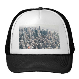 Skyscrapers and Rooftops of New York City Mesh Hat