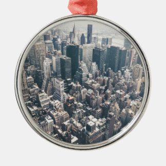 Skyscrapers and Rooftops of New York City Ornament