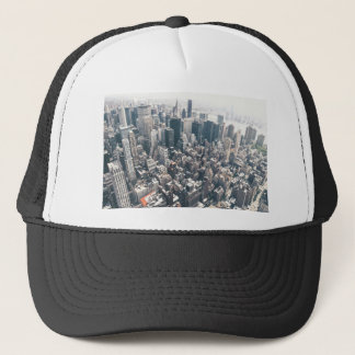 Skyscrapers and Rooftops of New York City Trucker Hat