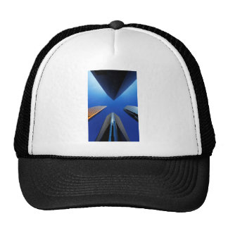 Skyscrapers Mesh Hat