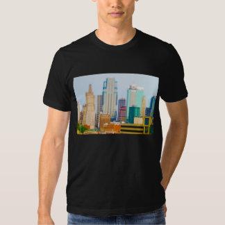 Skyscrapers High Rise Downtown Kansas City Skyline T-shirt