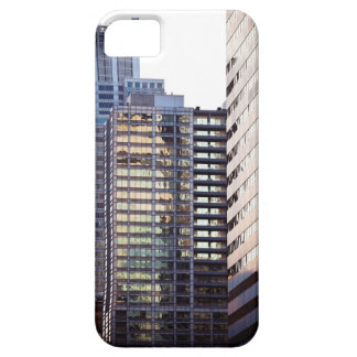 Skyscrapers in Chicago's financial district iPhone 5 Cases