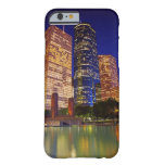 Skyscrapers in downtown Houston reflected in iPhone 6 Case