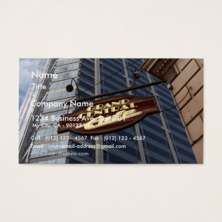 Skyscrapers In Downtown San Diego Business Card