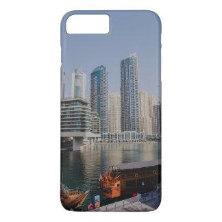 Skyscrapers in Dubai Marina iPhone 8 Plus/7 Plus Case