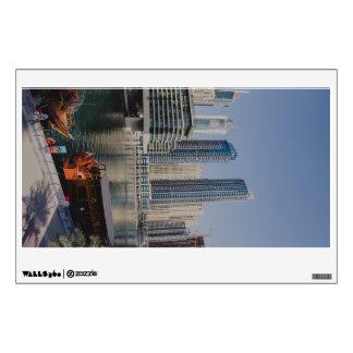 Skyscrapers in Dubai Marina Wall Sticker