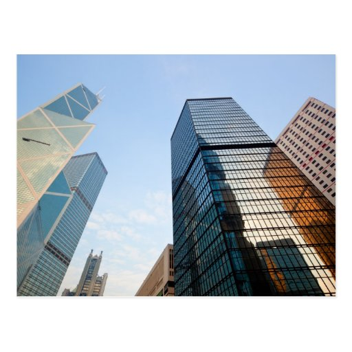 Skyscrapers in Hong Kong Postcards
