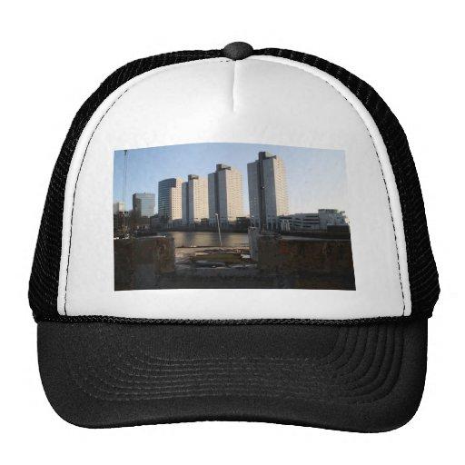 Skyscrapers in Rotterdam Trucker Hat