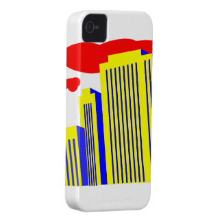 skyscrapers iPhone 4 cover