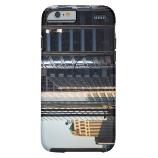 Skyscrapers line Chicago's financial district Tough iPhone 6 Case