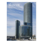Skyscrapers, Moscow, International Business Center Post Card