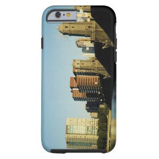 Skyscrapers near a bridge across a river, tough iPhone 6 case