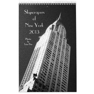 Skyscrapers of New York 13-Month 2013 Calendar