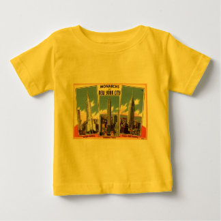 Skyscrapers of New York City Vintage Baby T-Shirt