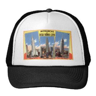 Skyscrapers of New York City Vintage Trucker Hat
