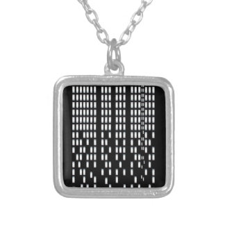 Skyscrapers Silver Plated Necklace