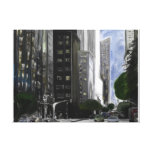 Skyscrapers Stretched Canvas Prints