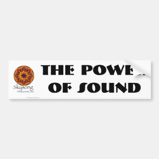 Skysong bumper sticker, The Power of Sound