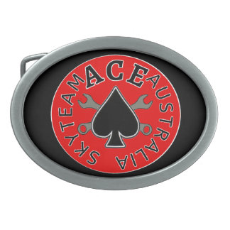 Skyteam ACE Australia Riders Belt Buckle