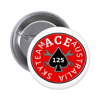 Skyteam ACE riders Australia Pinback Button