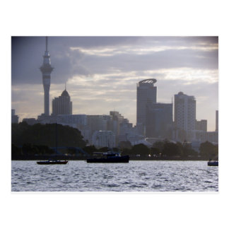 Skytower and Cityscape Postcard