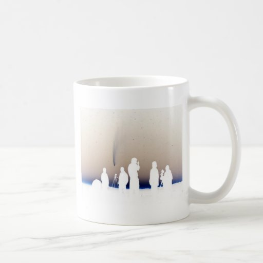 Skyview Classic White Coffee Mug