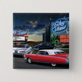 Skyview Drive In 2 Pinback Button