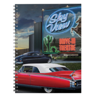 Skyview Drive In Notebook