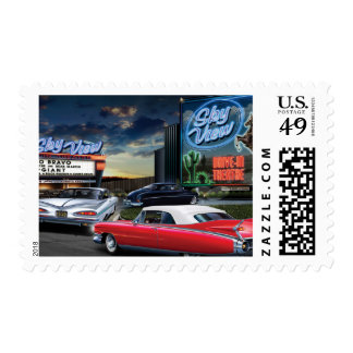 Skyview Drive In Postage Stamps