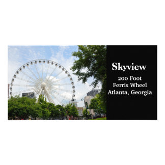 Skyview Ferris Wheel Atlanta, Georgia Card