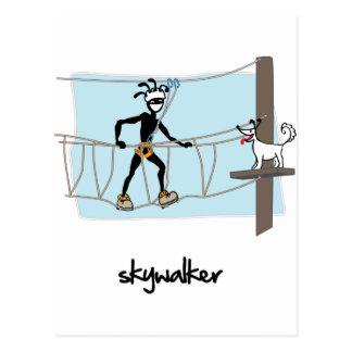 """Skywalker "" Tarjeta Postal"