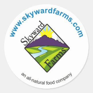 Skyward Farms Ketchup Classic Round Sticker