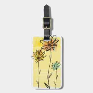 Skyward Flowers Bag Tag