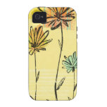 Skyward Flowers Vibe iPhone 4 Covers