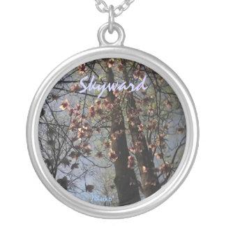 Skyward Round Pendant Necklace