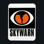 "SKYWARN Flexible Magnet<br><div class=""desc"">A great magnet with the SKYWARN Logo of course.</div>"