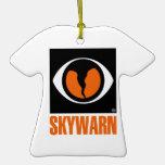 Skywarn Logo Christmas Ornament