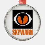 Skywarn Logo Christmas Tree Ornaments