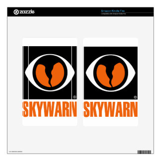 Skywarn Logo Decals For Kindle Fire