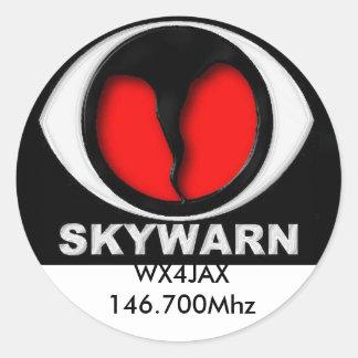 skywarn logo, Sticker