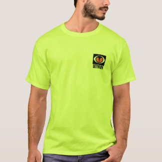 SKYWARN SAFETY GREEN TShirt Front Logo Only