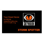 SKYWARN Storm Spotter Buisness Card Double-Sided Standard Business Cards (Pack Of 100)