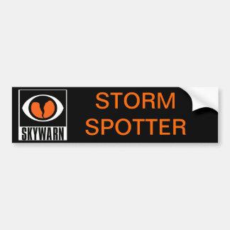 SKYWARN Storm Spotter Bumper Sticker