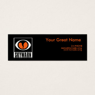SKYWARN Storm Spotter Small Business Card