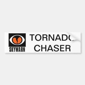 SKYWARN Tornado Chaser Bumper Sticker Car Bumper Sticker