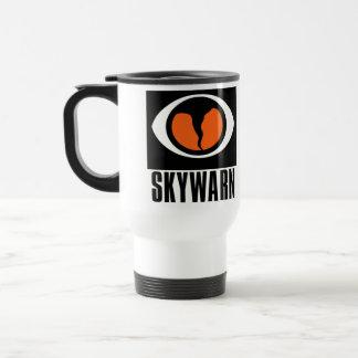 SKYWARN White Travel Mug