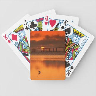 Skyway Bridge Bicycle Playing Cards