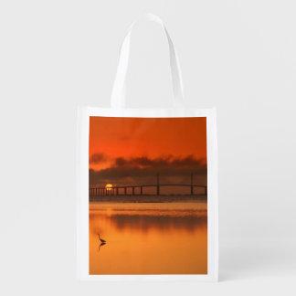 Skyway Bridge Reusable Grocery Bag