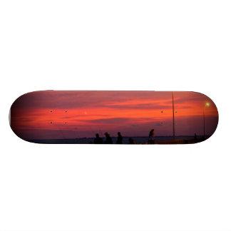 Skyway Fishing Custom Skateboard
